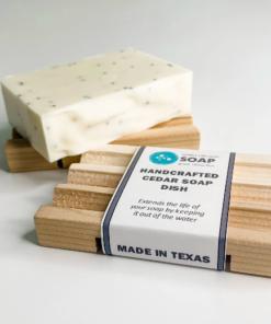 Simply Organic Soap Cedar Soap Dish